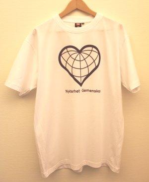 T-shirt: Sociala hjärtat