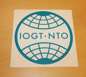 Dekaler IOGT-NTO-loggan (20 cm)