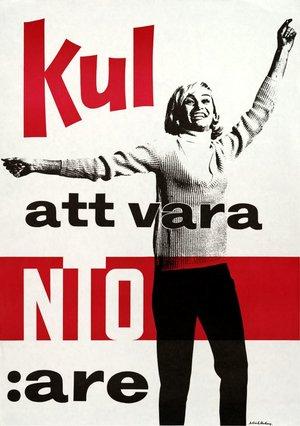 Affisch - Kul att vara NTO:are
