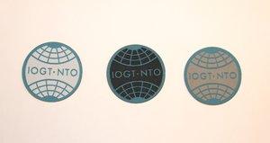 IOGT-NTO-tygmärke med klisterbaksida