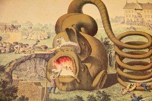 Affisch - Brännvins-draken