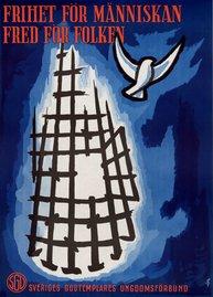 Affisch - Frihet för människan